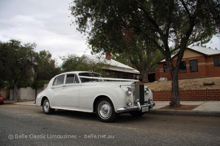 Rolls Royce limousine hire Perth