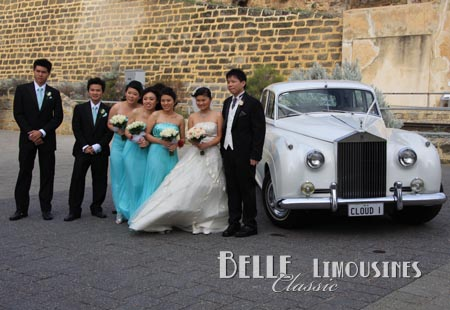 wedding limousines perth