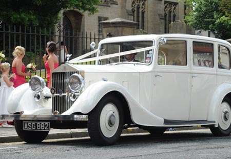 rolls-royce wedding cars