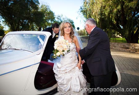 wedding car hire perth