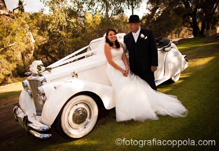 swan valley classic wedding car