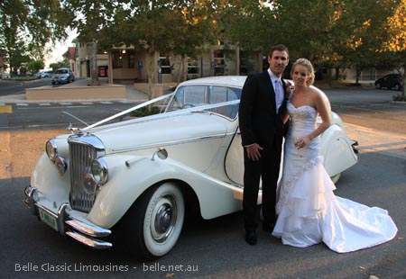 cottesloe beach wedding cars