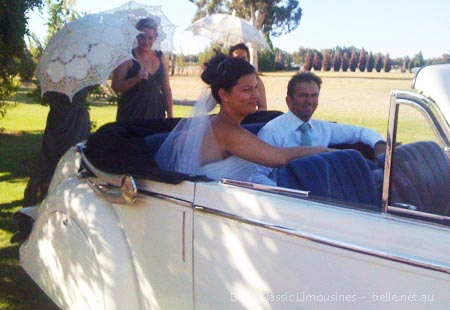 sandalford winery wedding cars