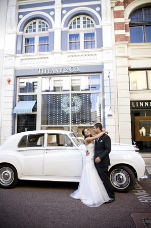 wedding limousine hire perth