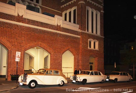 town hall wedding cars